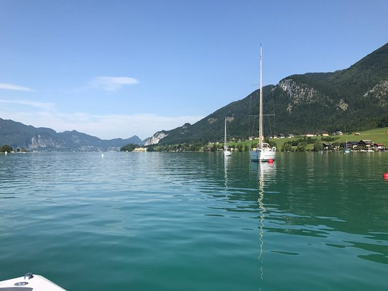 Hotel Furian am Wolfgangsee: Speedboat Excursions
