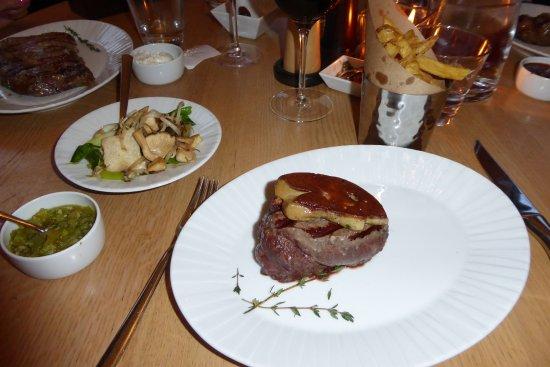 El Gaucho: Filetsteak mit Foie gras