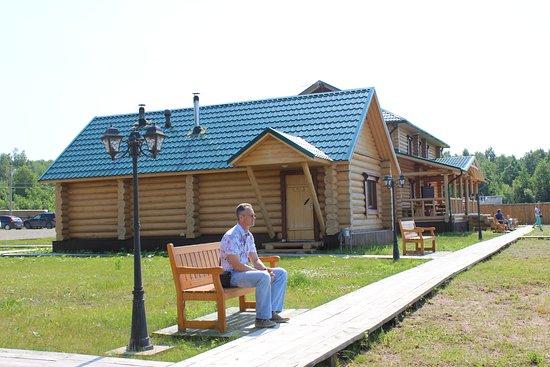 Каргополь, Россия: Баня и гостиница