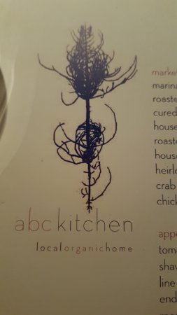 Menu Cover - Picture of ABC Kitchen, New York City - TripAdvisor