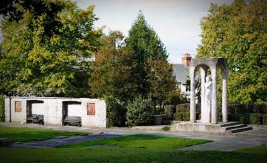 Aldershot, UK: shrine for hero's