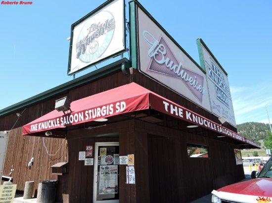 The Knuckle Saloon: Facciata esterna