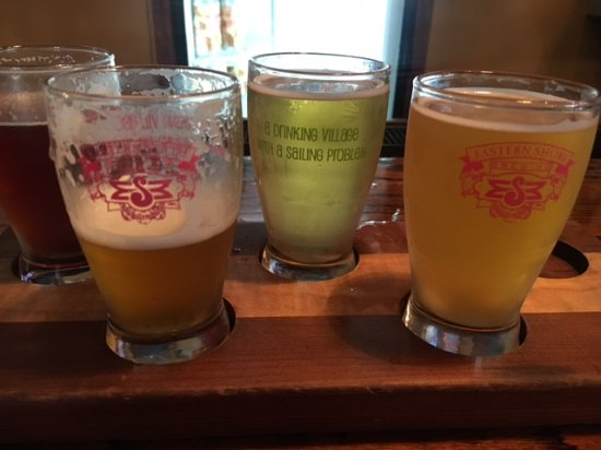 St Michaels, MD: A drinking village with a sailing problem -- my beer flight