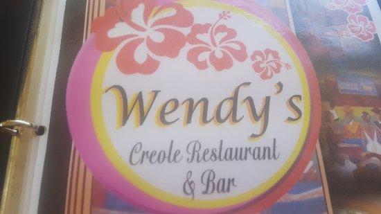 Wendy's Restaurant & Bar : sign