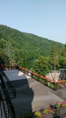 Lillafured, Ungern: vue du balcon