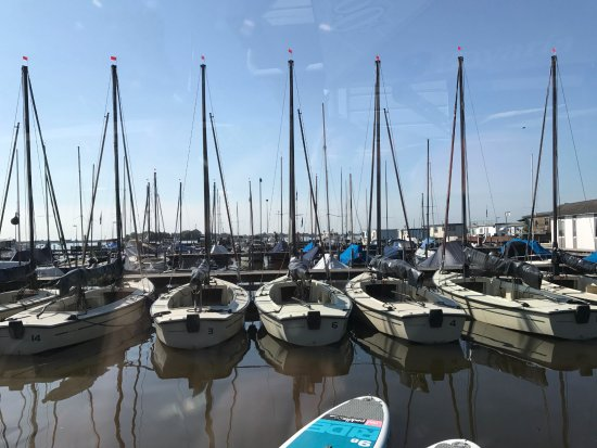 Loosdrecht, Nederland: View of the marina from De Serre
