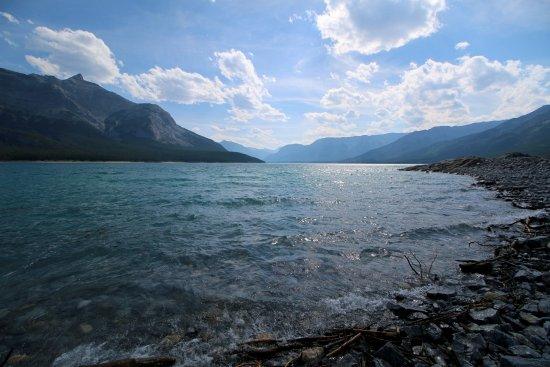 Abraham Lake in July