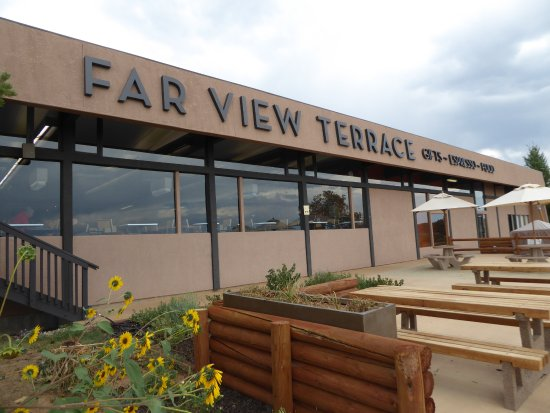 Far View Terrace Restaurant: The Terrace...