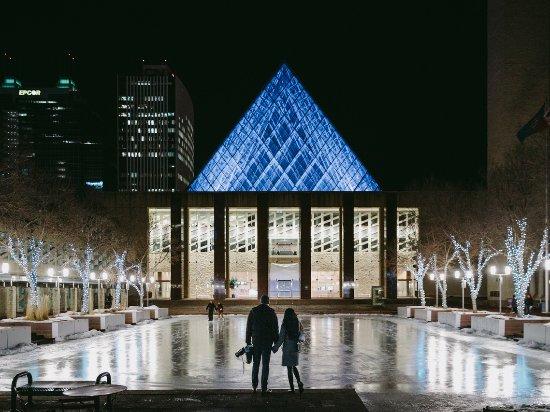 Edmonton isn't just Alberta's capital city, it's like the capital city of winter too.