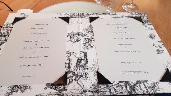 La table du 11 menu septembre 2017 picture of la table for La table du 9