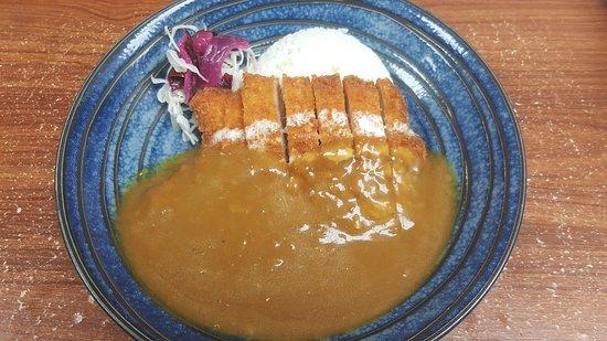 Fort Saskatchewan, Canadá: Hanabi Lunch Special Curry Rice