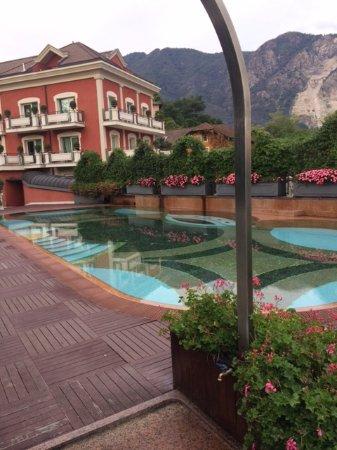 Hotel Splendid: la zona piscina/solarium