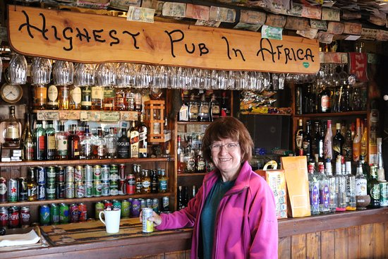 Sani Pass, Lesoto: The most photographed bar!