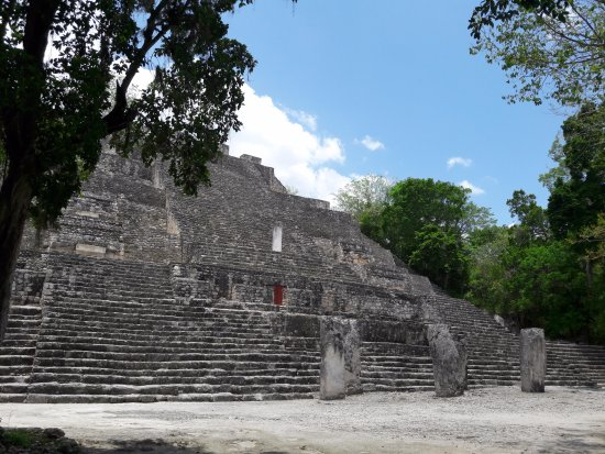 Xpujil Town, Mexico: Calakmul