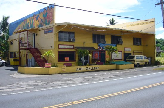 Kaneohe, Hawái: Sunshine Arts Gallery on the Windward coast of Oahu