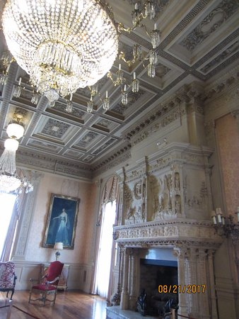 Newport Mansions: Magnificent fireplaces.