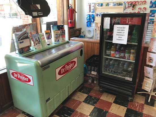 Buchanan, VA: Soda cooler