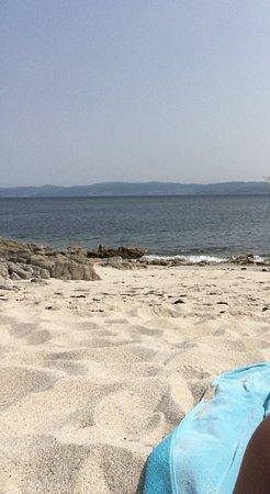 Barco Isla de Ons - Cruceros Rias Baixas: Playa Melide