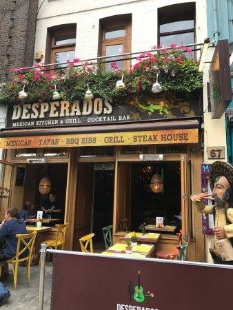 Photo1 Jpg Picture Of Desperados Restaurant Angel London Tripadvisor
