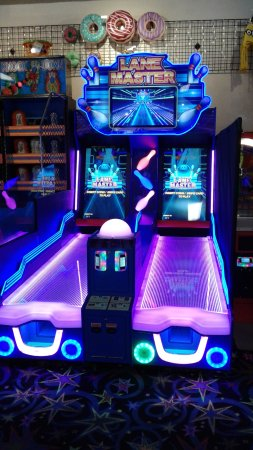 Funland Arcade: Meet Lane Master - the replacement for Striker! Its bigger, brighter, cooler and awesome! #Funla