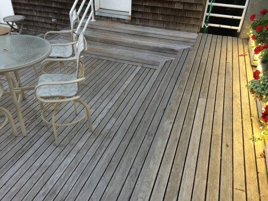 Остров Люмми, Вашингтон: patio stairs