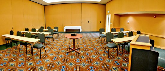 San Carlos, AZ: One of several conference rooms at the Apache Summit.