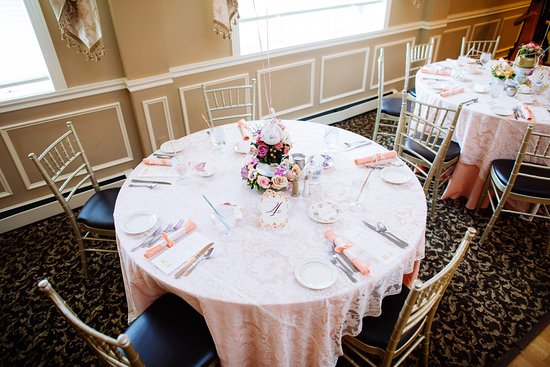Asbury, NJ: Banquet Example Set-Up