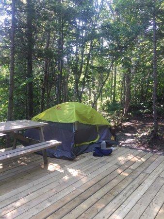 Camping griffon gasp avis terrain de camping for Camping a quebec avec piscine