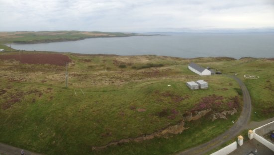 Mull of Galloway Lighthouse: Views for miles