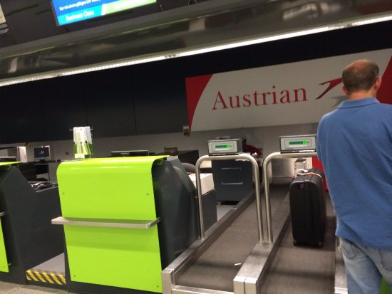 Austrian Airlines City Check In Counter At Wien Mitte Picture Of