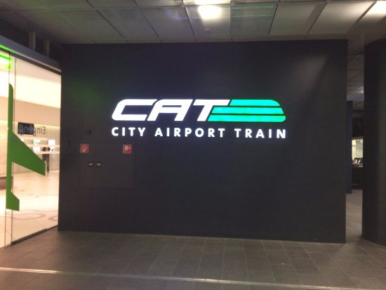 Entrance To Cat Station At Wien Mitte Picture Of City Airport