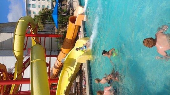 Coushatta Casino Resort : Waterslide at the Waterpark.