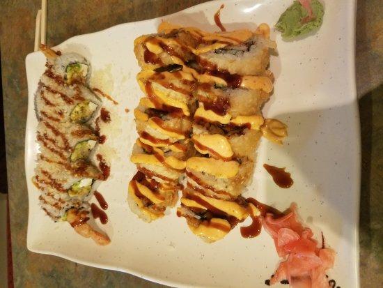 DeKalb, IL: Godzilla Roll and the Yami Yami Roll