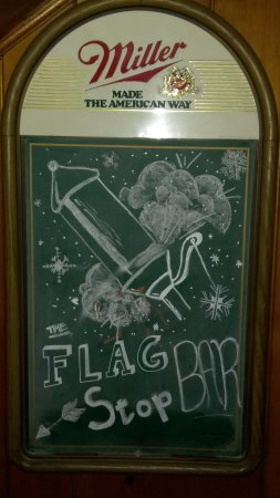 Essex, MT: Welcome to the Flagstop Bar!