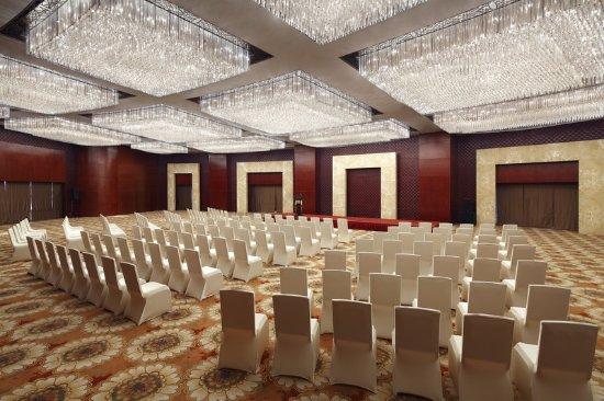 Jinzhou, Cina: Grand Ballroom - Theatre Set Up