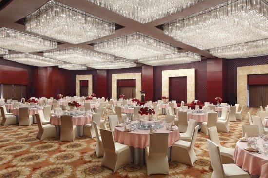 Jinzhou, Cina: Grand Ballroom - Round Table Set Up