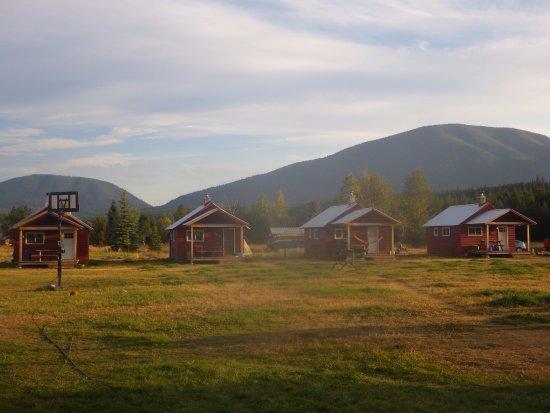 Polebridge, MT: The four rental cabins