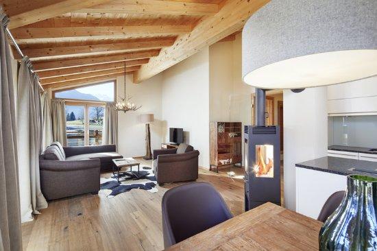 Bramberg am Wildkogel, Austria: Living area PH IIIc