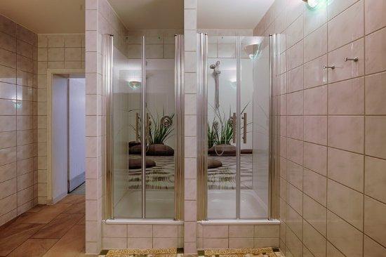 Hotel Smetana: Sauna Shower