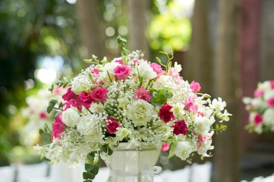 Anantara Bophut Koh Samui Resort : Garden Wedding Set up