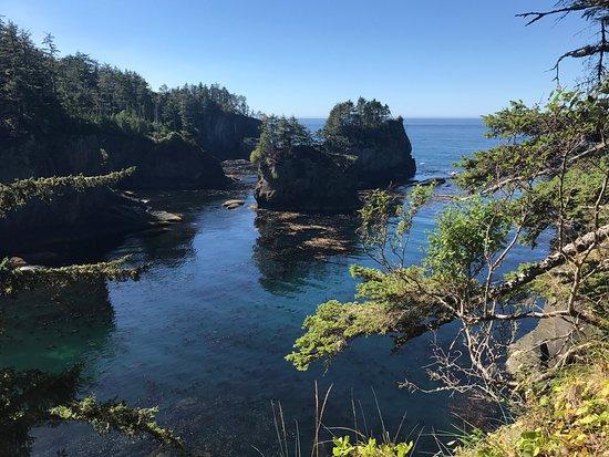 Clallam Bay, WA: View point