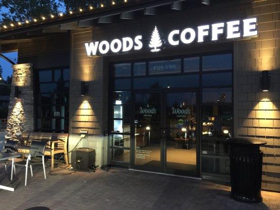 Tsawwassen, Canada: Woods Coffee