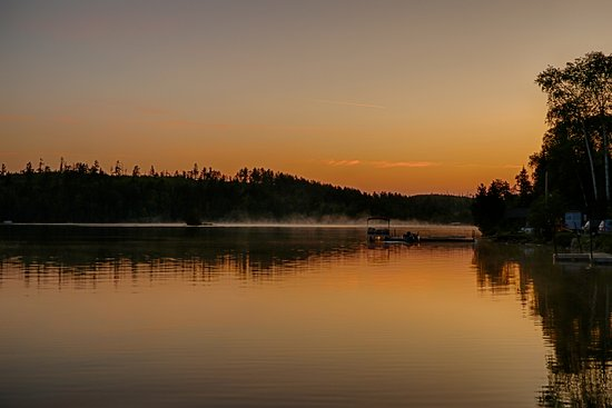 Sunrise at Loon Lake Lodge