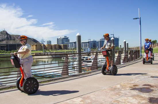 Tempe Arizona Lake Town Segway Tour With Papago Buttes