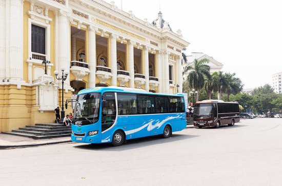 Daily Shuttle Bus Hanoi - Catba Transportation Small Group