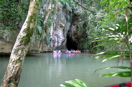 Barton Creek Cave Canoeing und Big ...