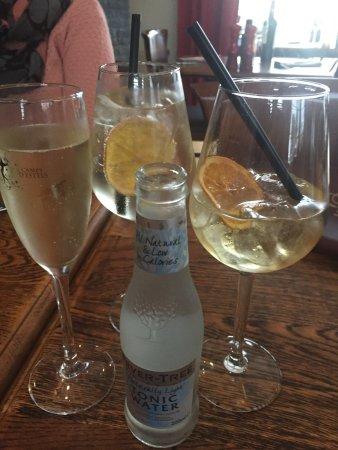 Werchter, Belgia: aperitief