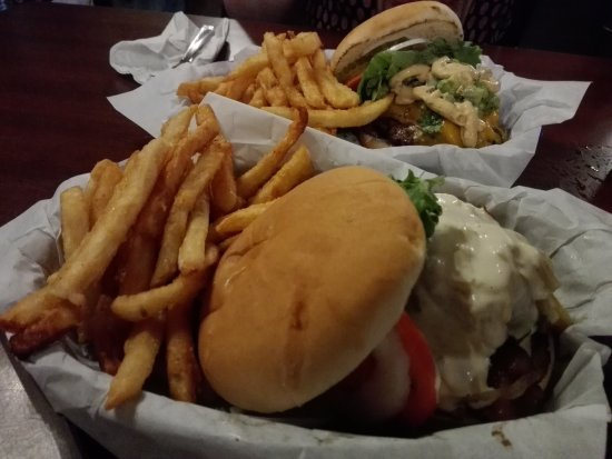 Iron Door Saloon and Grill: Works Burger