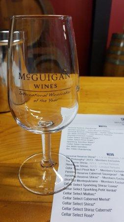 McGuigan Wines: McGuigan Wine Tasting Glass