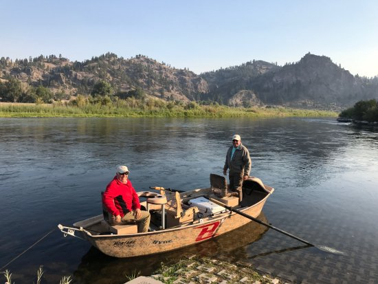 Helena, MT: Fishing on the Missouri River